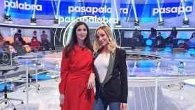 'Pasapalabra': Quiénes son los invitados de hoy Ángela Cremonte, Miguel Hermoso, Ángela Cremonte y Alfonso Egea