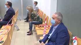 Sonia Castedo y Luis Díaz Alperi, durante el juicio por el caso 'Brugal PGOU Alicante'