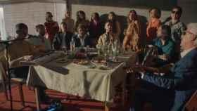 Imagen del video de C. Tangana donde las mujeres llevan ropa de Alto Copete.