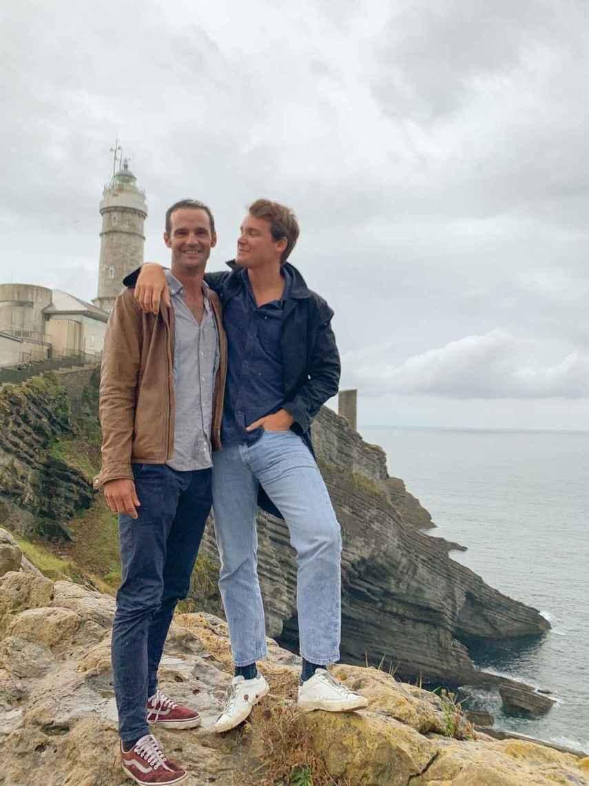 José Bono Jr. y Aitor Gómez, en una imagen compartida en Instagram.