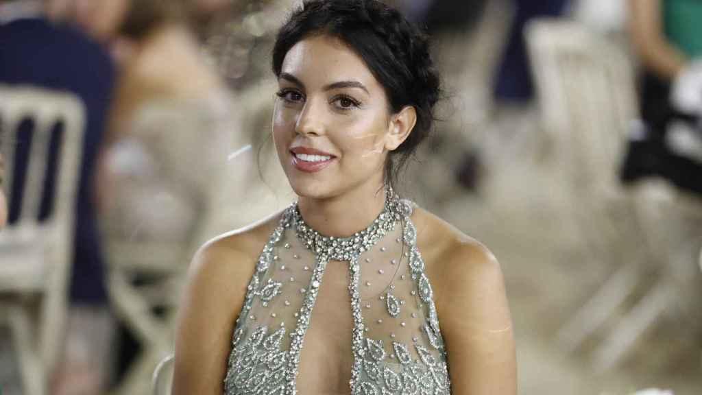 Georgina Rodríguez, durante un evento en Madrid.
