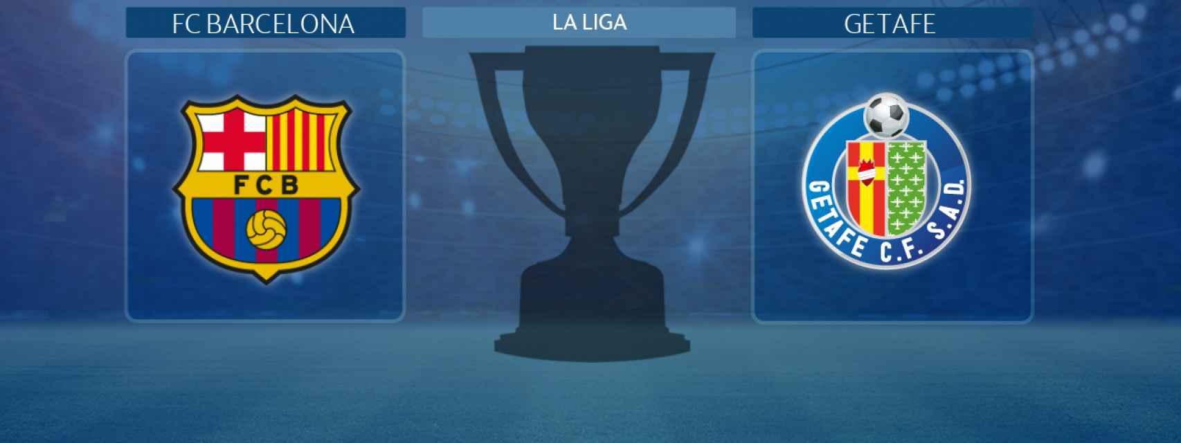 FC Barcelona - Getafe, partido de La Liga