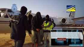 Detención practicada por la Policía Nacional y mensaje difundido por Al Qaeda en su revista afín.