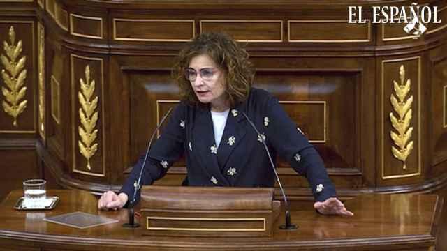 Montero, a un diputado de Vox: Hay que tener cuajo para hablar de corrupción siendo sobrino de Rato