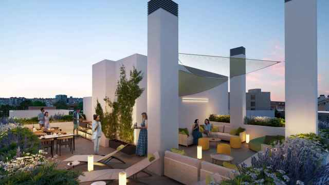 Imágenes de la promoción ADF10 que construye Optimus Homes junto a Madrid Río.