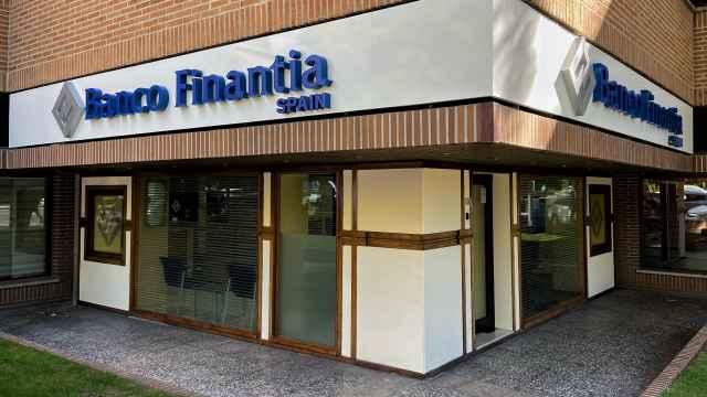 Oficina de Banco Finantia en Madrid.