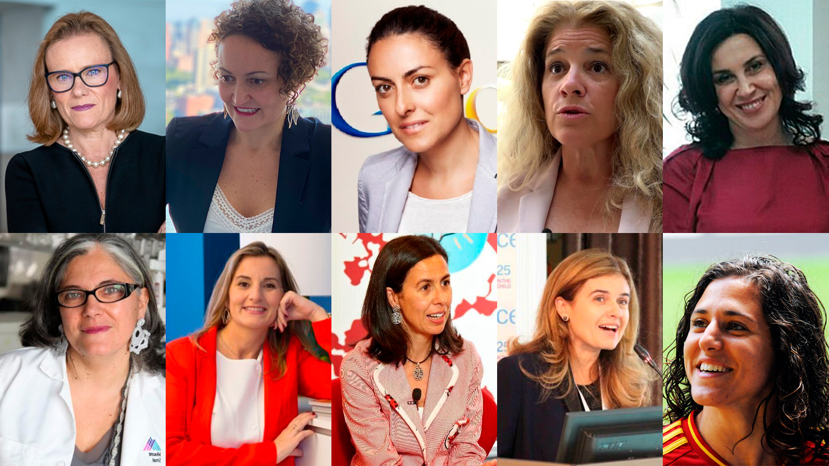 El Top de las 10 mujeres españolas que triunfan en el extranjero