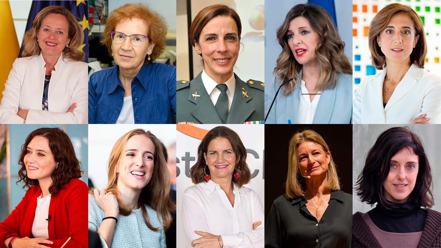 Top 100 mujeres que lideran España.