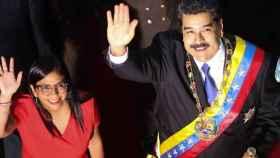Nicolás Maduro junto a su vicepresidenta, Delcy Rodríguez. EP