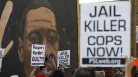 Una manifestación tras conocerse el veredicto del juicio de George Floyd.