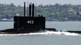Un submarino KRI Nanggala-402, similar al desaparecido en Indonesia.