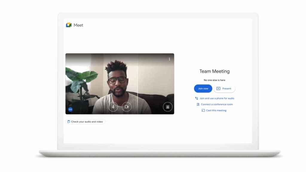 Google Meet cambiará el brillo automáticamente