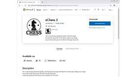 Captura de pantalla de la página de tienda falsa.