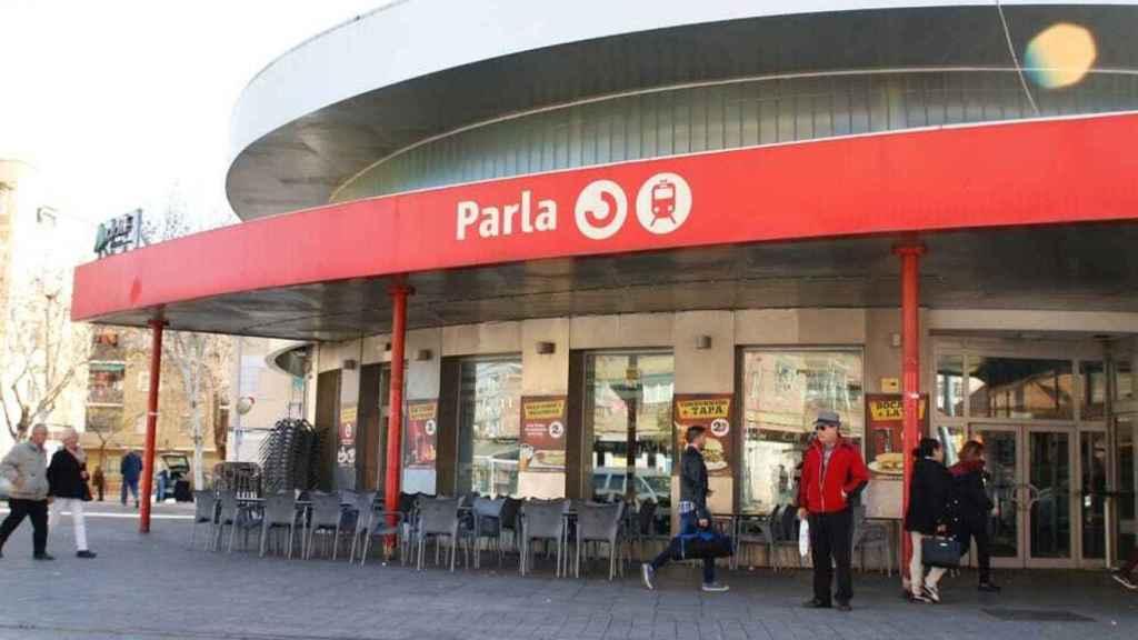 Estación de Renfe en Parla, donde los arrestados raptaron a la víctima.