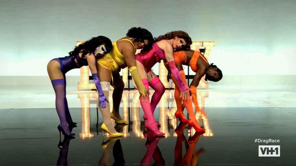 Las cuatro finalistas de 'RuPaul's Drag Race 13'