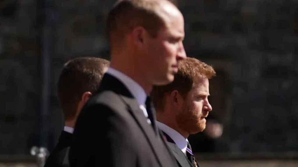Los hermanos se reencontraron en el funeral de su abuelo el pasado 17 de abril.