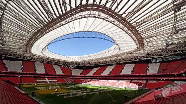 Vista general del Estadio Nuevo San Mamés