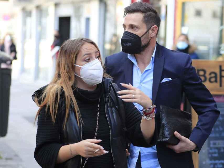 Antonio David Flores junto a su hija Rocío el pasado mes de febrero de 2021.