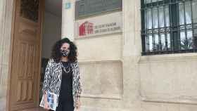 La vicerrectora de Cultura de la Universidad de Alicante, Catalina Iliescu, presenta ACUA.