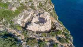 El castillo de Granadella, en una imagen actual