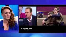 Imagen de la entrevista de Rocío Carrasco en Telecinco
