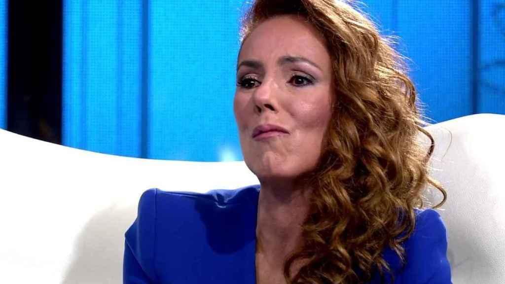Rocío Carrasco ha sido testigo presencial de un espectáculo lamentable.