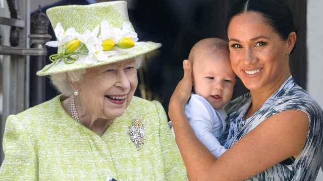 La reina Isabel II recibió la llamada de Meghan Markle y su nieto, Archie.