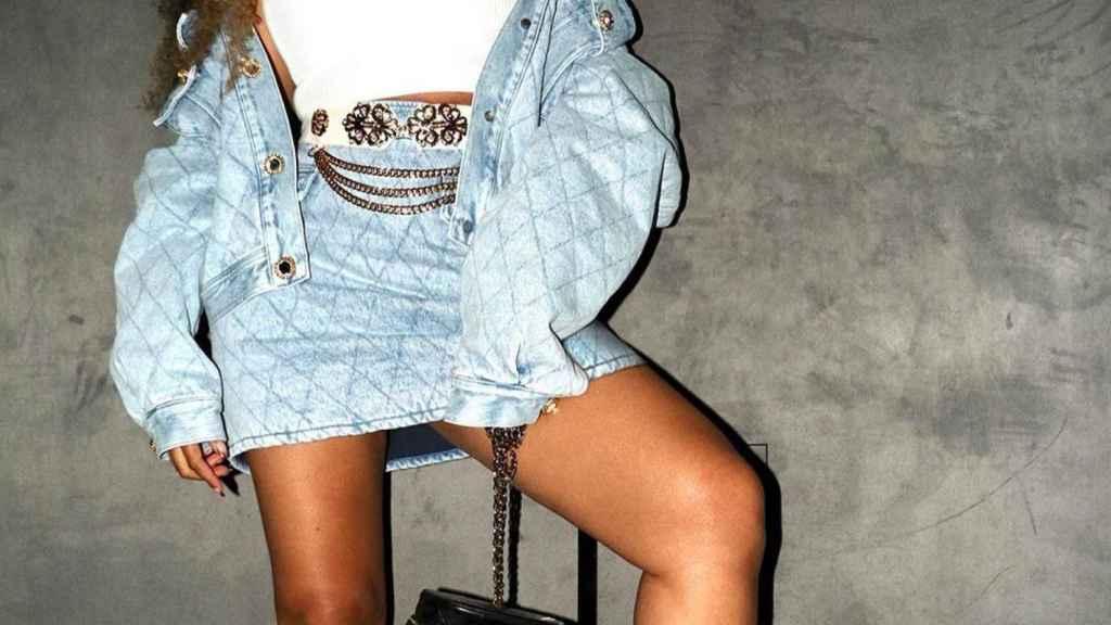 Beyoncé en una imagen de sus redes sociales.