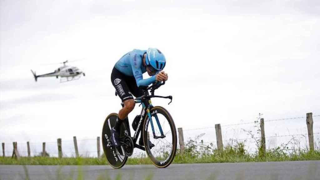 Jakob Fuglsang en el Tour de Francia