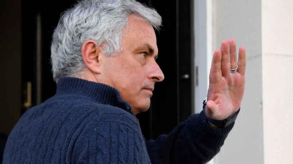 Mourinho tras conocer su cese como entrenador del Tottenham