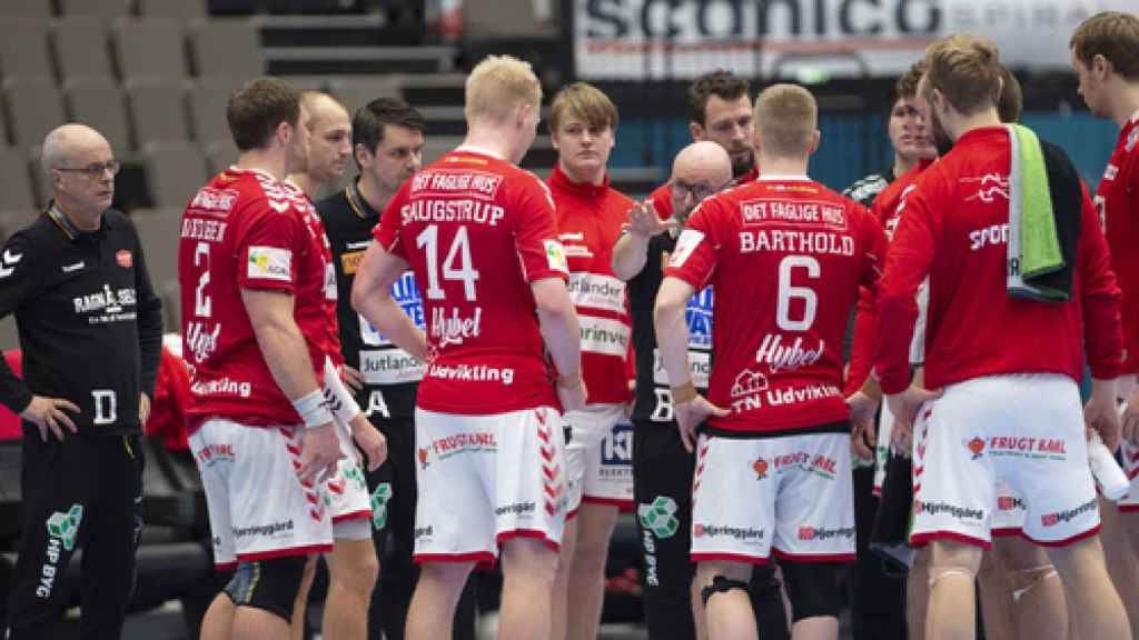 El Aalborg Handbold danés