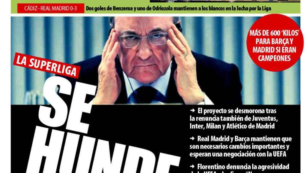 Portada Mundo Deportivo (22/04/21)
