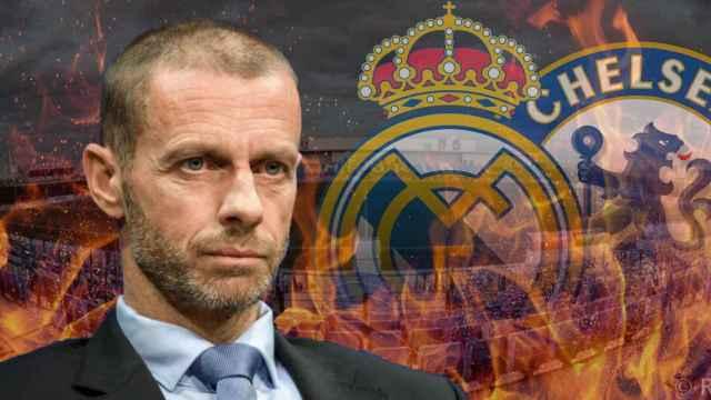Ceferin y el Real Madrid - Chelsea