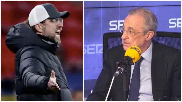 Klopp y Florentino Pérez