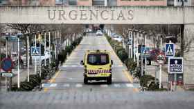El Hospital Universitario Fundación Alcorcón, en Madrid.