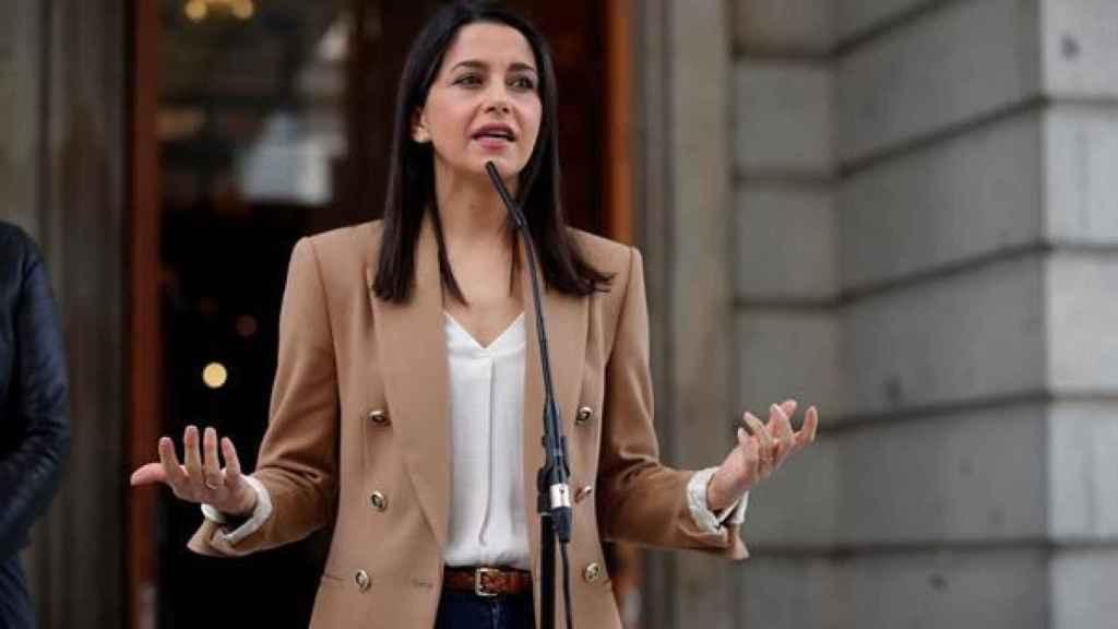 La líder de Ciudadanos, Inés Arrimadas, en una imagen de archivo.