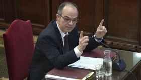Jordi Turull, durante su declaración ante el Tribunal Supremo./