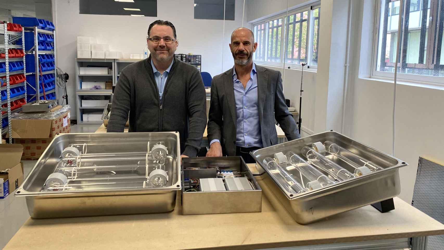 Mario Alfonso y Alfonso L. Gordon, dos de los tres socios fundadores de Alteria Automation.