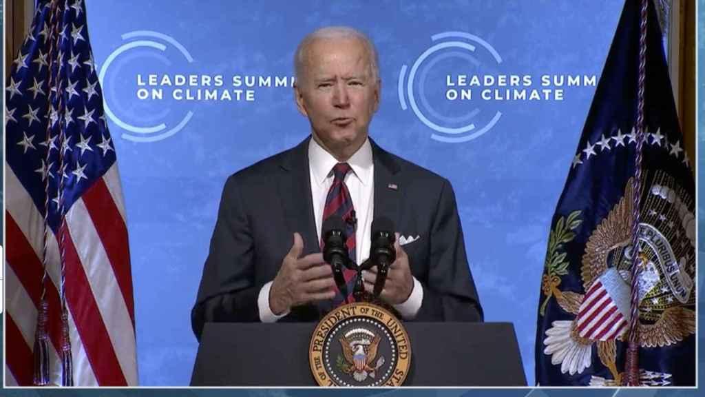 Biden anuncia un objetivo de reducción del 52% de las emisiones de GEI para 2030