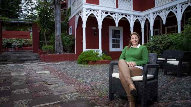 Lourdes Pérez en Las Longueras.