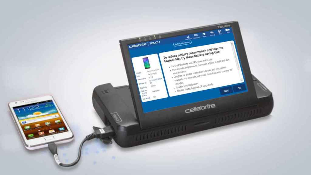Cellebrite vende dispositivos y software para desbloquear móviles