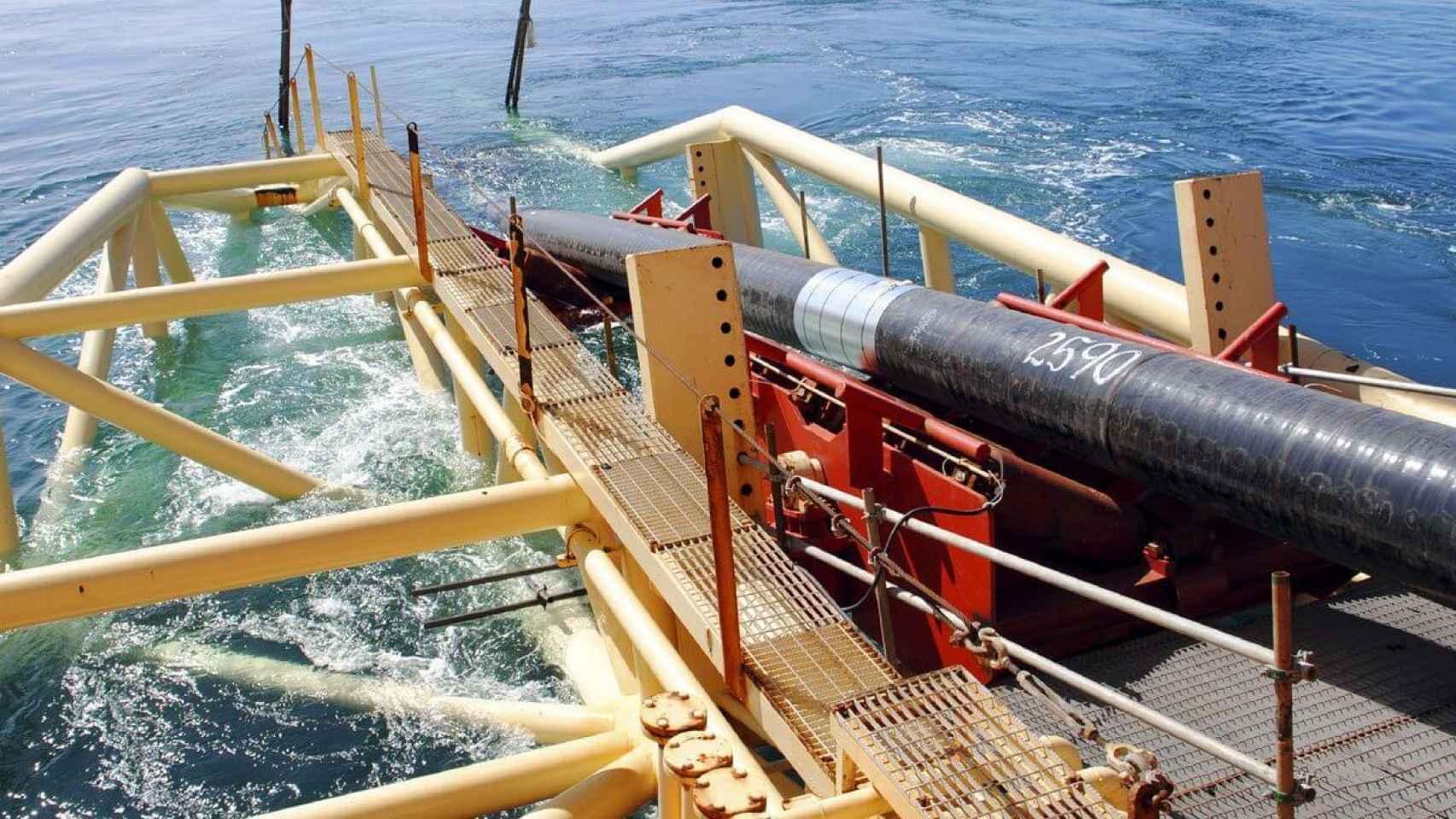 Despliegue de cable submarino