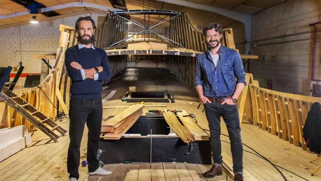 Rodrigo Santoro y Álvaro Morte serán Magallanes y Elcano en 'Sin límites'.