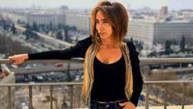 La presentadora María Patiño.