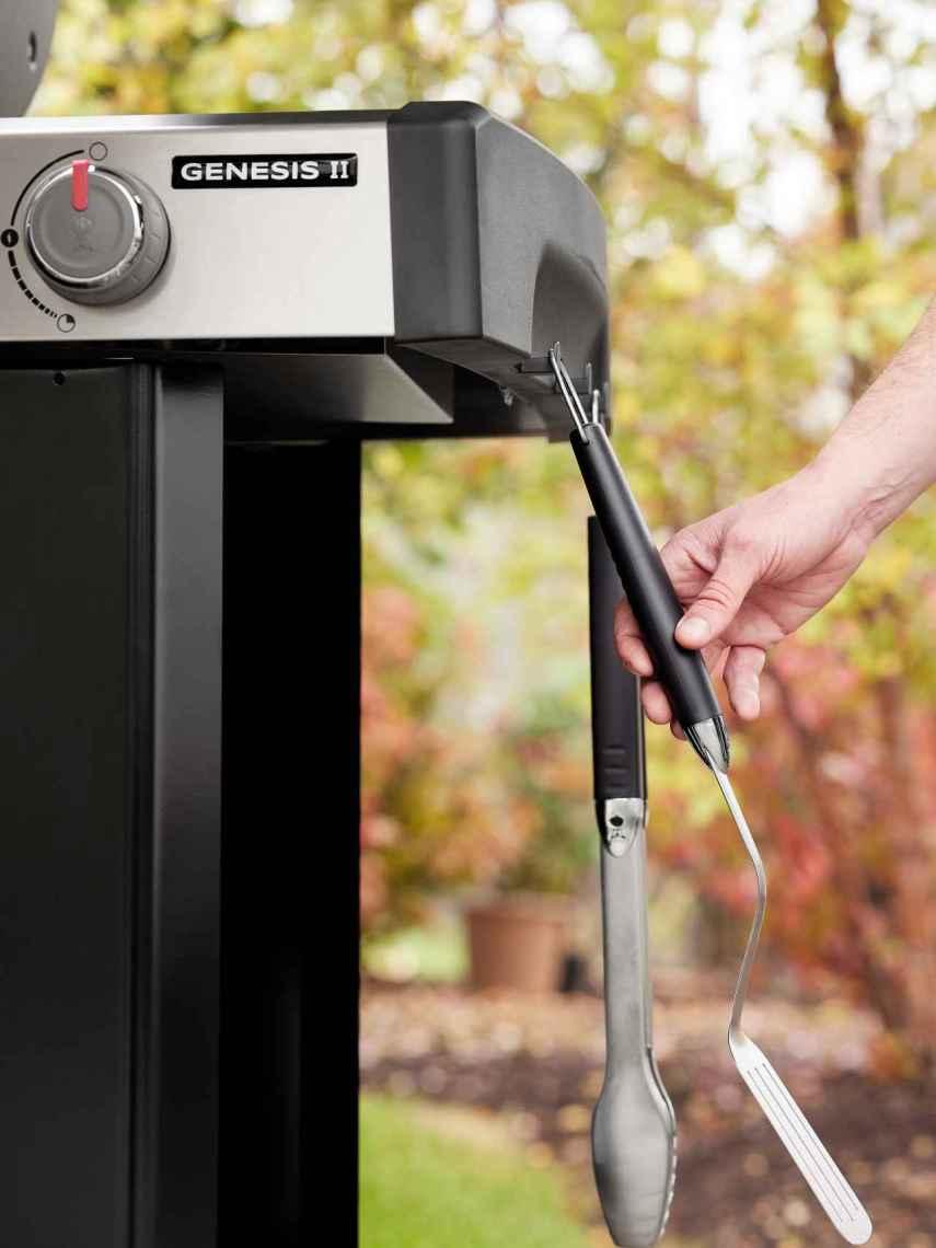 En el lateral, siempre a mano, podrás colocar tus utensilios de cocina.