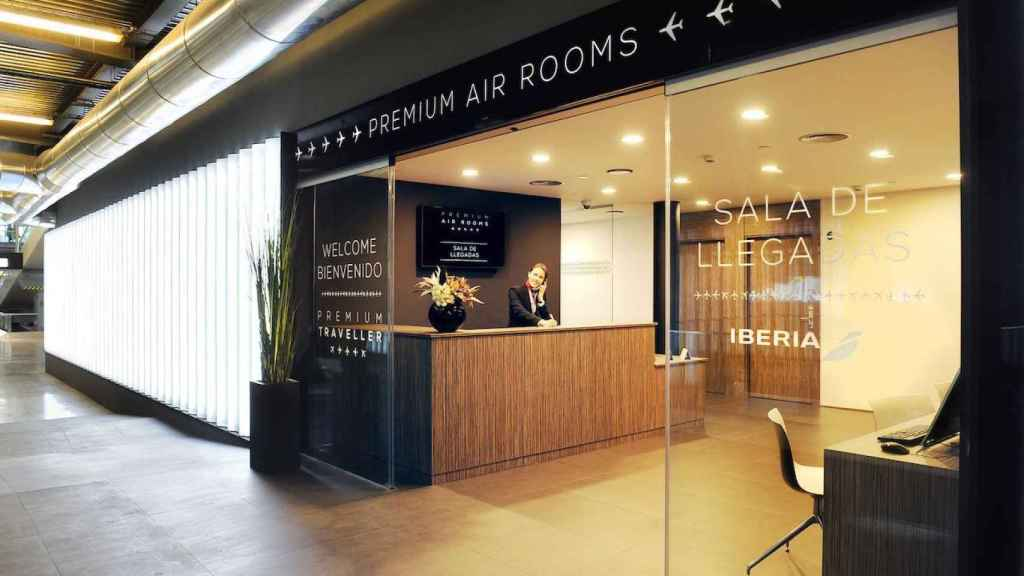 Air Rooms de Barajas en la T4.