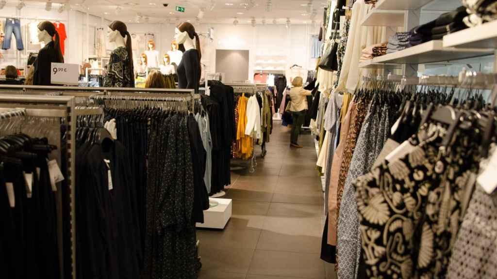 Una tienda de H&M.
