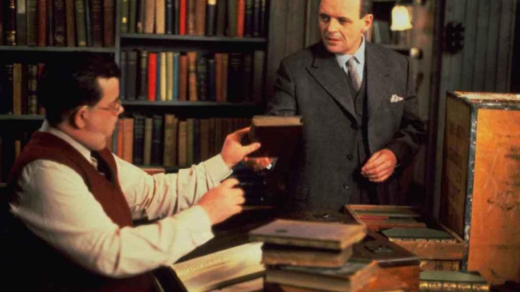 Anthony Hopkins en un fotograma de 'La carta final'.