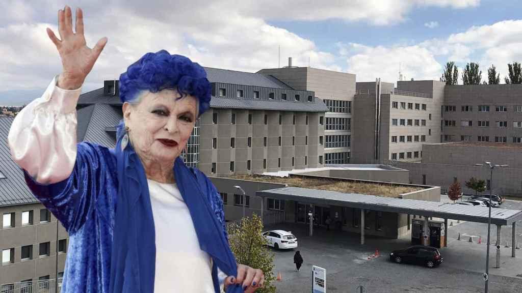 Lucía Bosé falleció por una neumonía asociada a la Covid, algo que su hijo Miguel niega