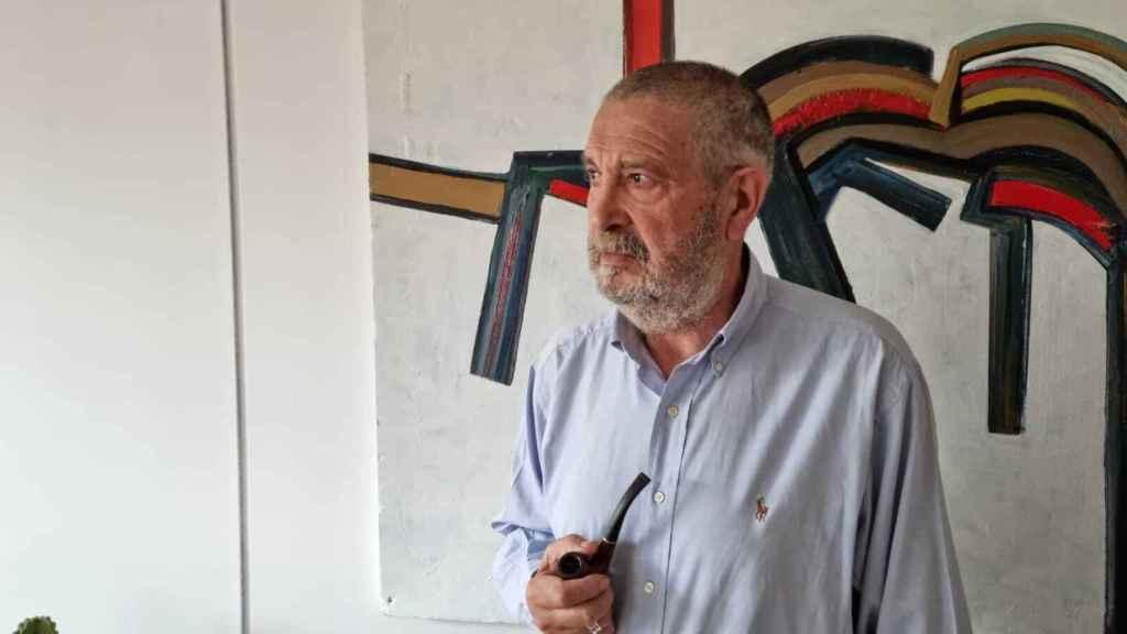 El pintor burgalés Juan Vallejo.